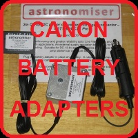 click for canon pro battery adapters
